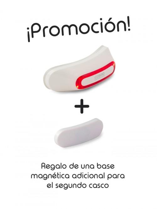 Cosmo Moto Blanco Brillante + base magnética adicional regalo